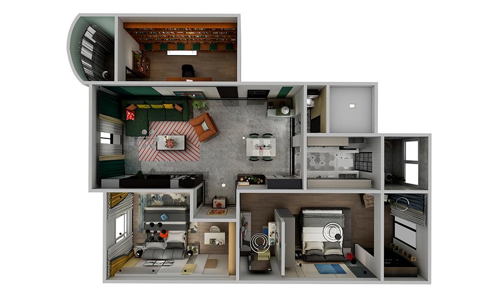 米斐全屋家居2.0系列