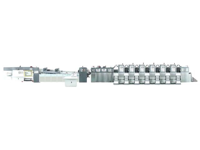 KL-型固定式自動印刷開槽模切折疊粘箱聯動線
