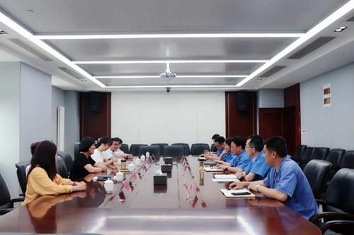 澗西區政協主席趙暉到洛銅集團走訪調研