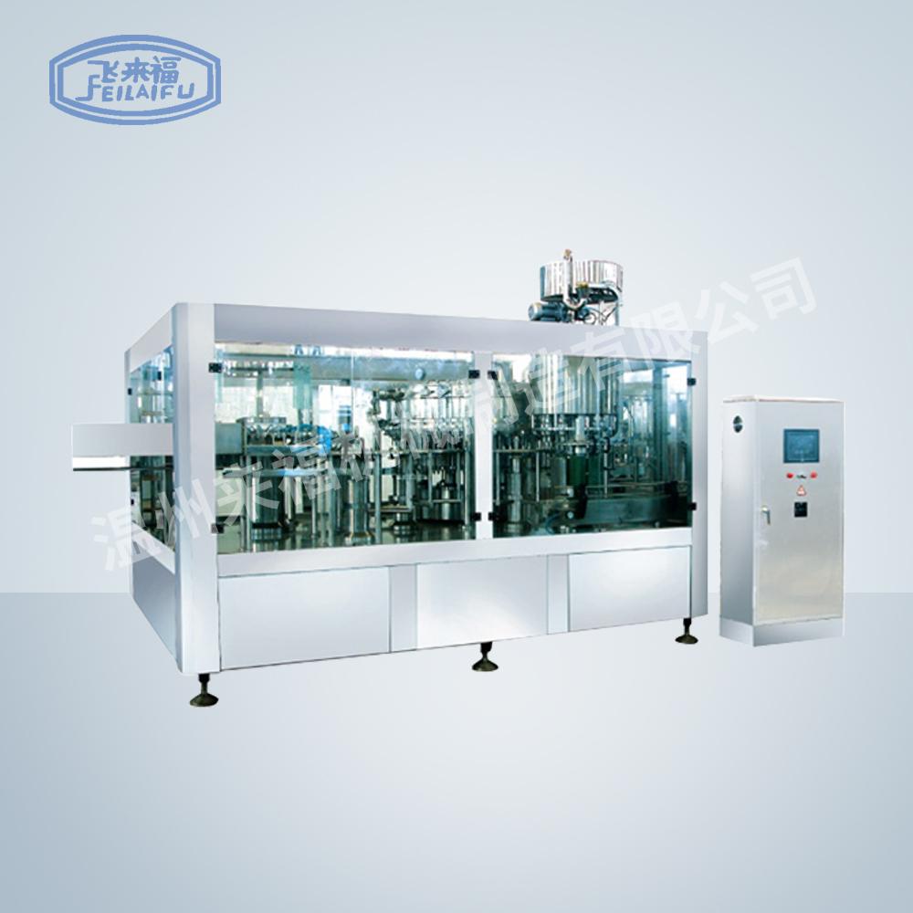 JR32-32-10D 10000B/H沖瓶灌裝旋蓋三合一機組