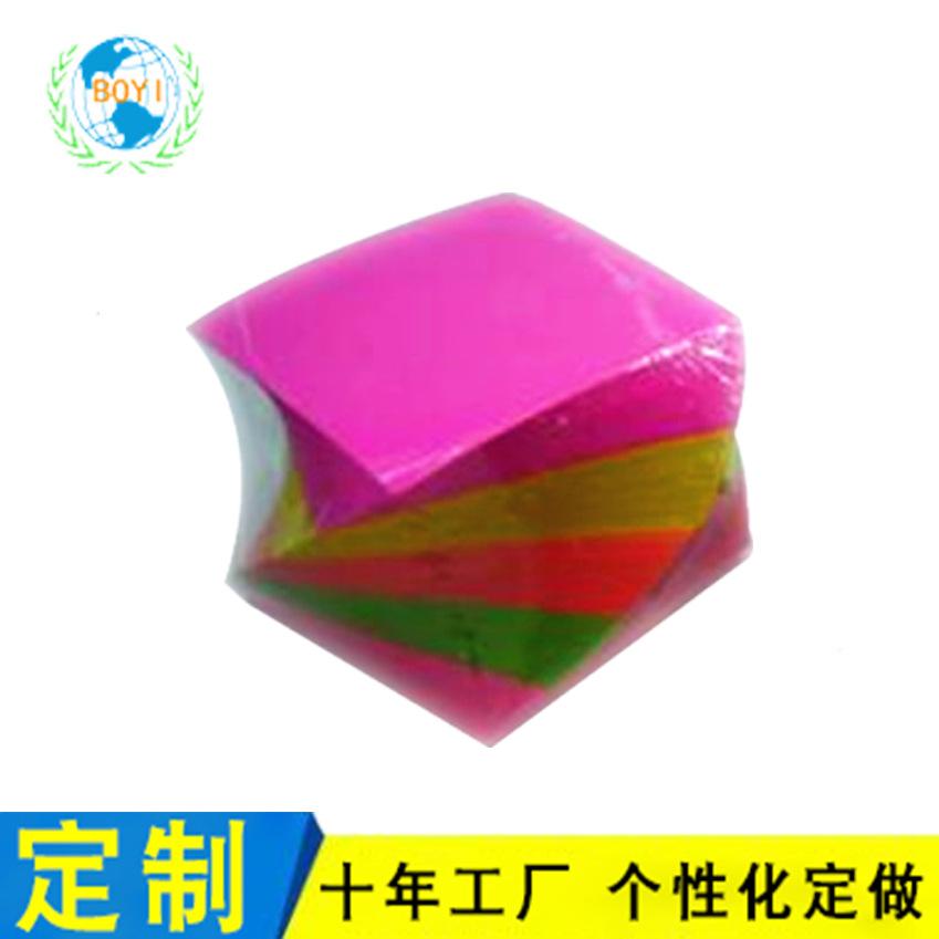 创意便签本 厂家订做便携商务会议立体纸砖 便利贴异形定制