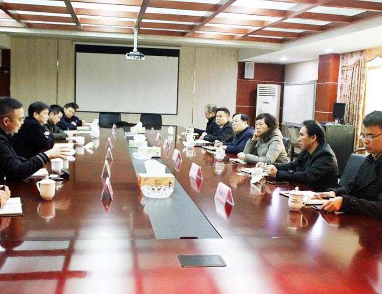 2019年2月,浙江省人民政府副秘書長高屹在天潔調研