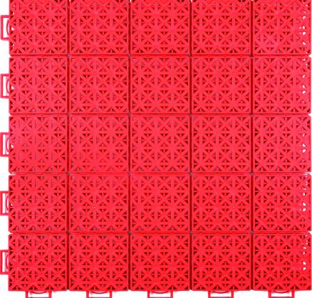 软连接一代悬浮式拼装地板