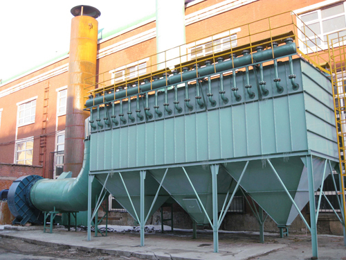 PPC氣箱式脈沖布袋除塵器