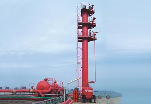 欽州油庫碼頭消防設施