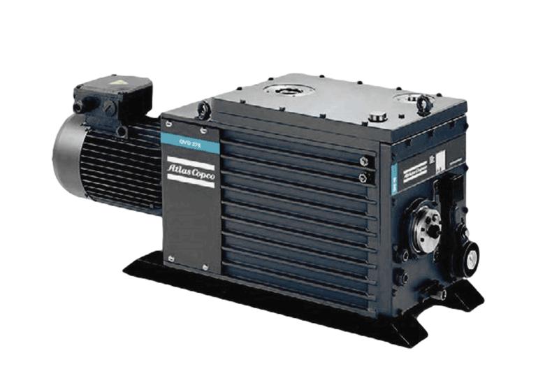 GVD 雙級油潤滑旋片式真空泵