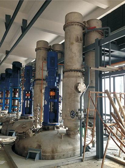 環氧樹脂冷凝裝置