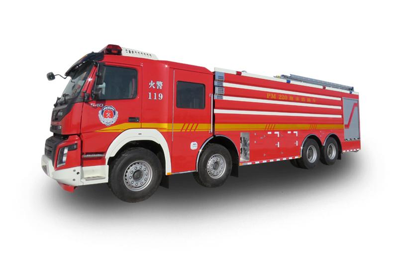 PM220重型水罐泡沫消防車