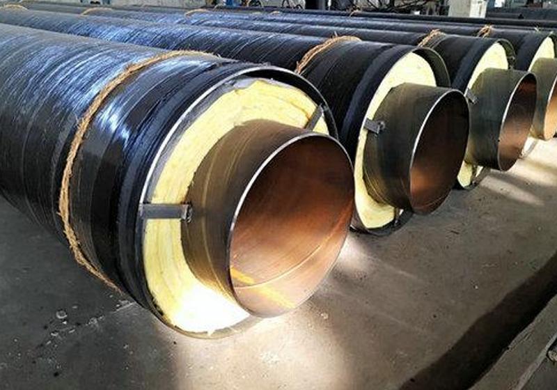 高温直埋蒸汽保温(钢套钢)弯管