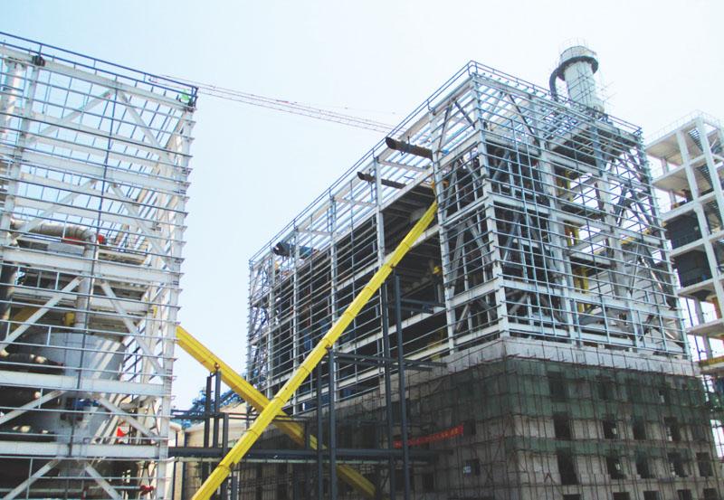中儲糧油脂(唐山)有限公司機電設備安裝