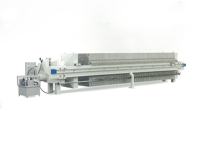 程控自動1250型廂式壓濾機