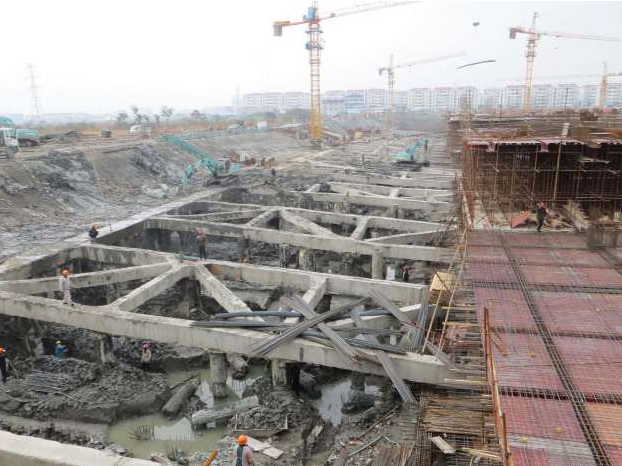 臺州路橋生活資料市場基坑圍護工程