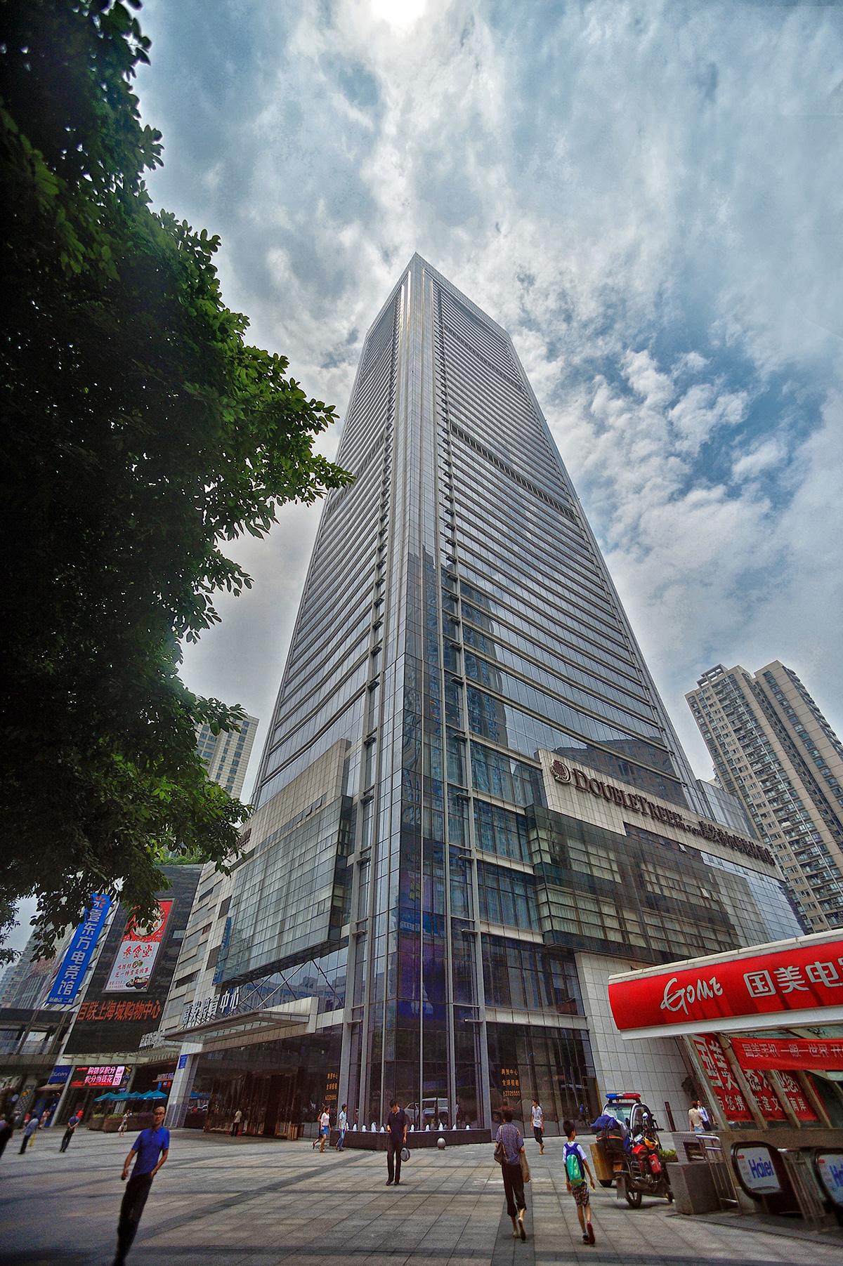 重慶上海城二期C區3號樓(嘉德中心)空調安裝工程