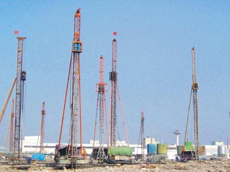 寧波寶新鋼鐵軋機及圍護樁工程