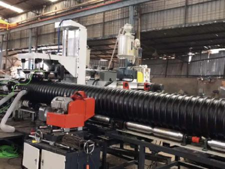 HDPE增強鋼帶螺旋波紋管