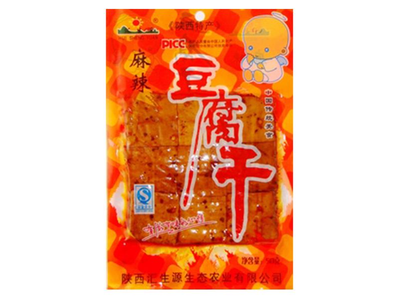 麻辣豆腐干50克