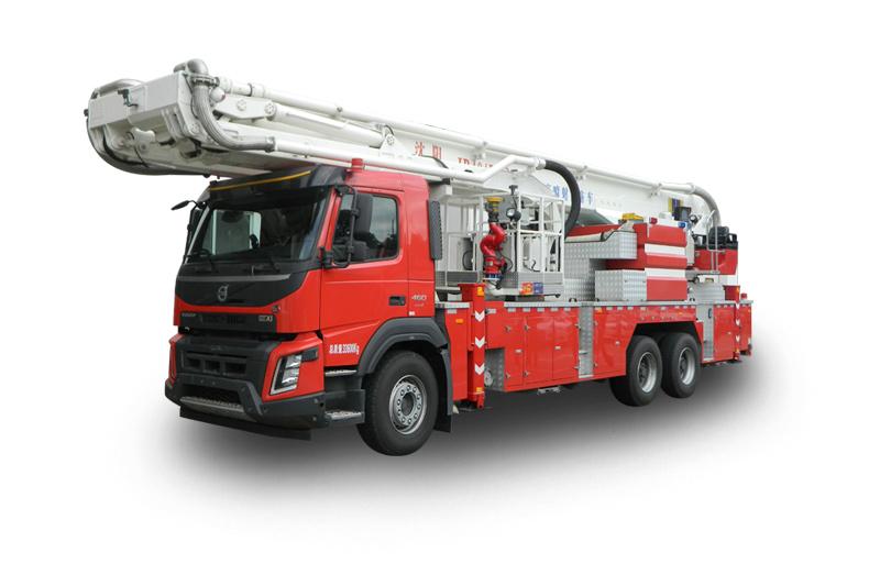 DG35/JP40多功能雙臂登高平臺救援消防車