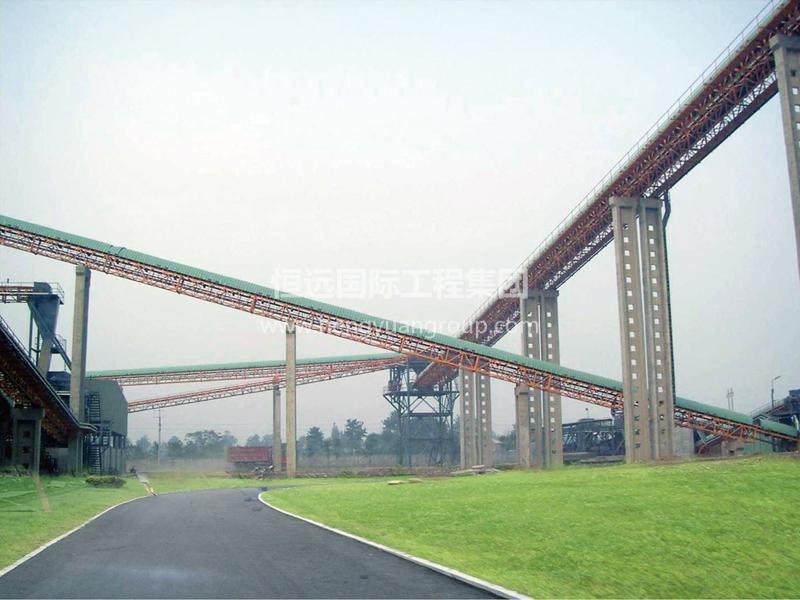 俄羅斯亞洲水泥有限公司5,000TD水泥生產線項目HY-DTII(A)型帶式輸送機
