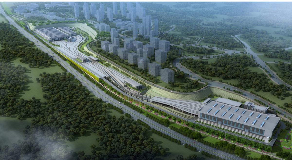 重慶軌道交通環線涂山車輛段土建及安裝工程(參建)(在建)
