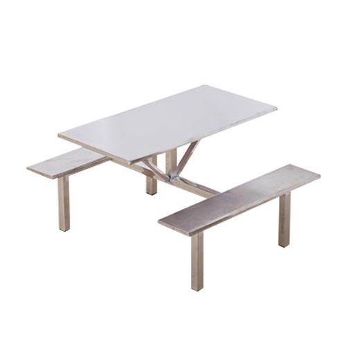 不銹鋼四人快餐桌