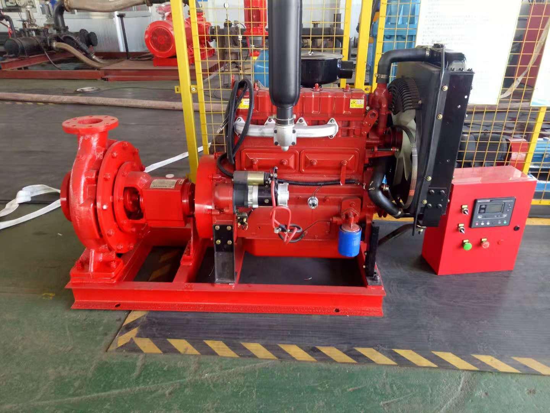 一對一3CF證書XBC5/20G-BY柴油機消防泵組