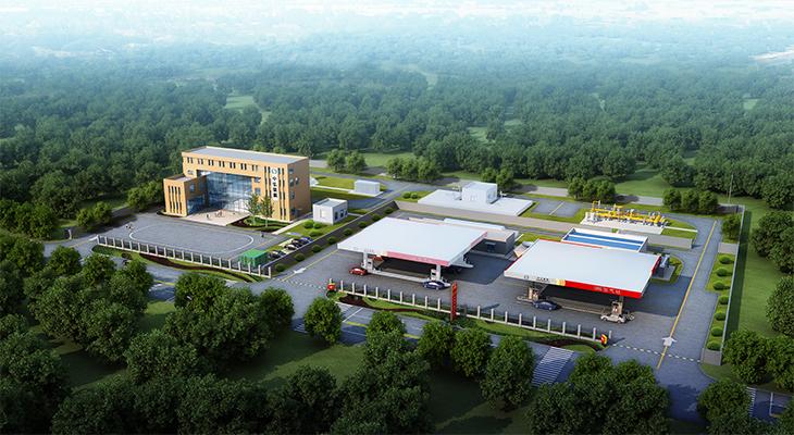 工程監理-雅安市蘆山縣產業集中區天然氣管道及CNG加氣站工程
