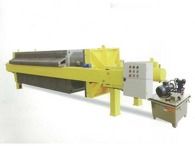 普通液壓710型廂式壓濾機