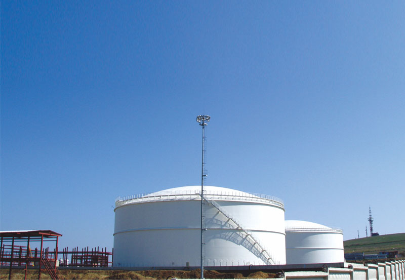 俄羅斯塔氏集團合成氨廠低溫液氨儲庫項目