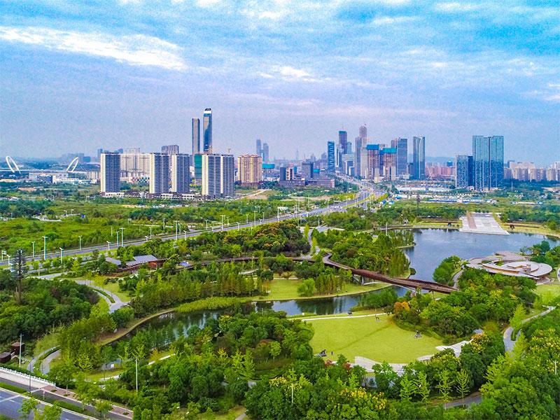 争创国家生态园林城市