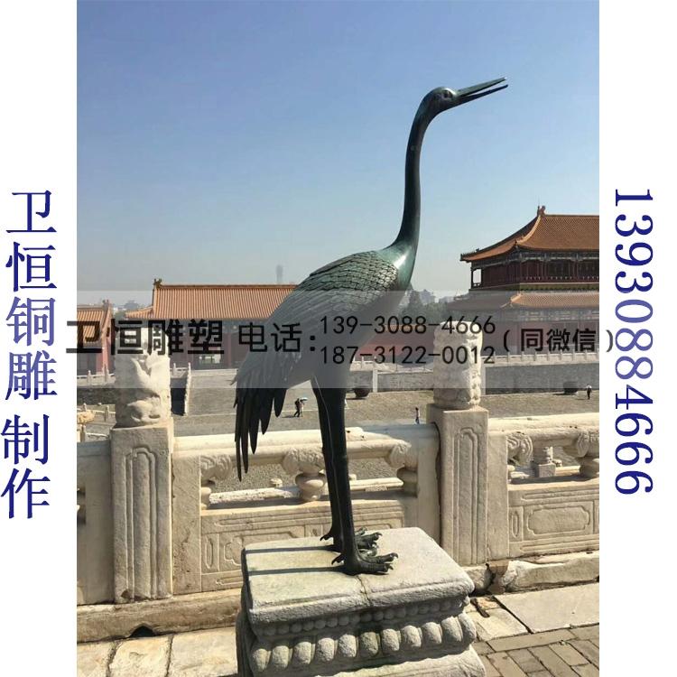 鹤登龟雕塑