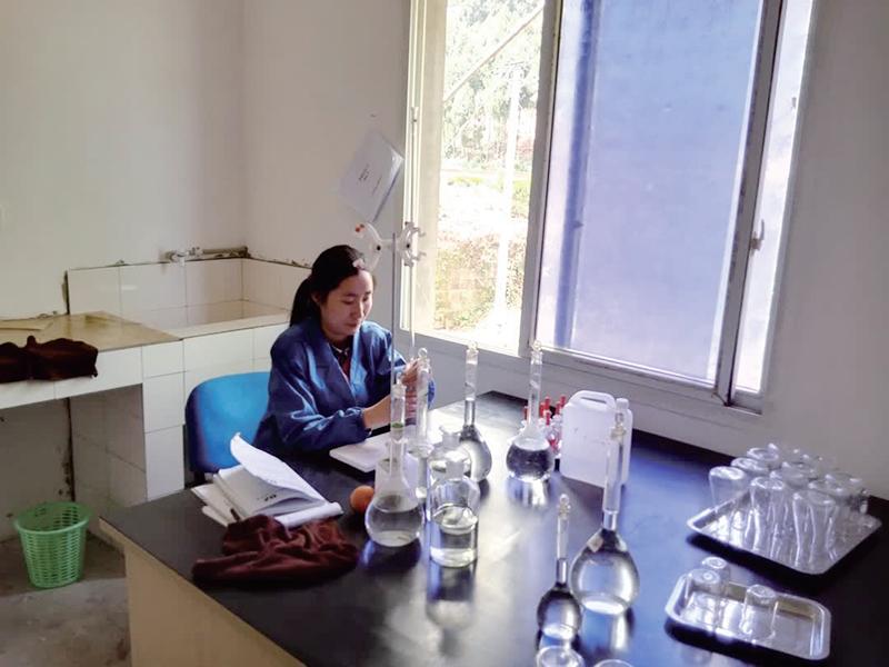 水質分析試驗