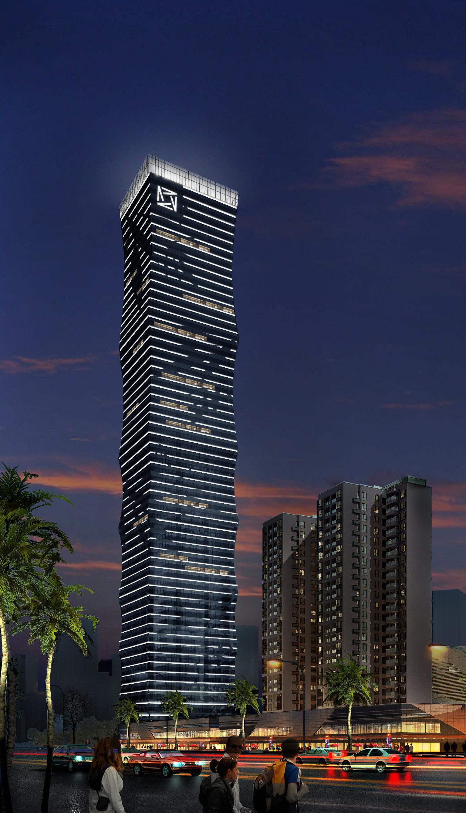 东莞长安万科广场项目8楼泛照明工程
