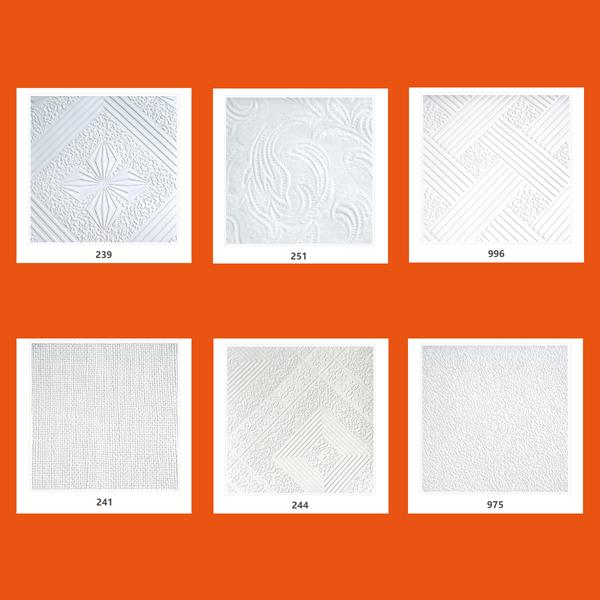 夢牌PVC三防潔凈石膏天花板