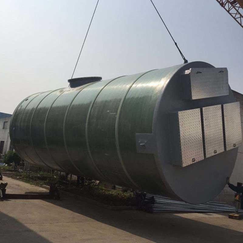 一體化泵站廠家:一體化泵站要根據當地的環境條件進行定制