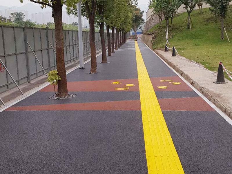 重慶大竹林首條自行車道