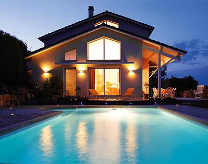私家花園泳池