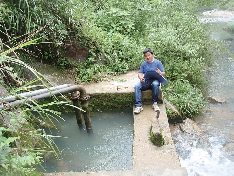 重慶酉陽至貴州沿河高速酉陽隧道專項水文地質調查
