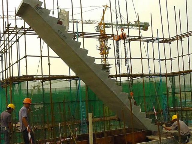 预制楼梯吊装