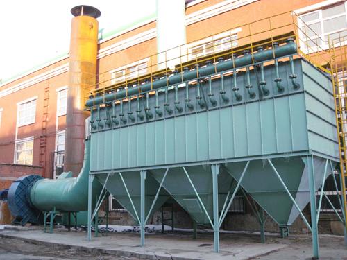 PP系列氣箱脈沖袋除塵器