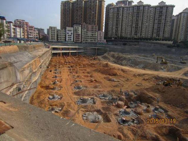 泰兴花园桩基及支护工程