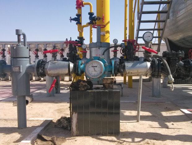 中石化采油厂使用现场