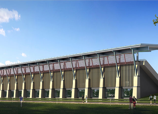 澳門大學新校區發展新項目體育館