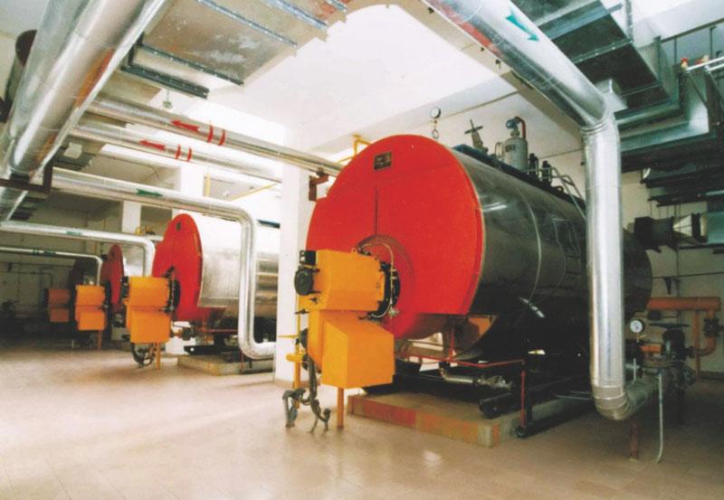 深圳市龍飛紡織工業有限責任公司鍋爐安裝工程