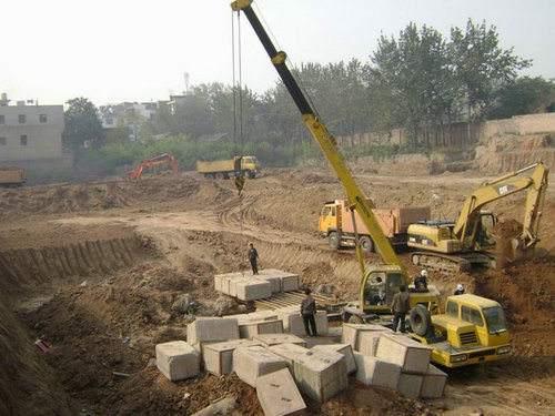 國豐北片區建筑垃圾清運及地下基礎拆除工程