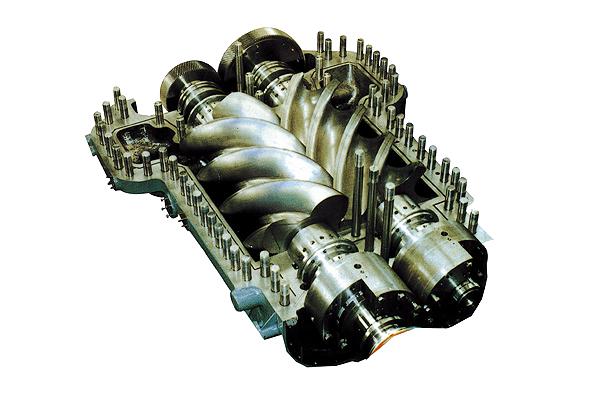 工艺无油螺杆压缩机