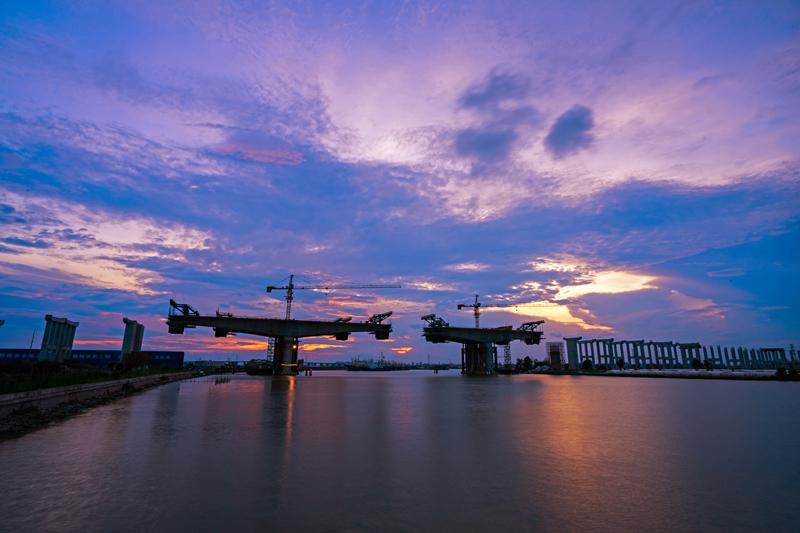 臺州灣大橋及接線工程第TS12標