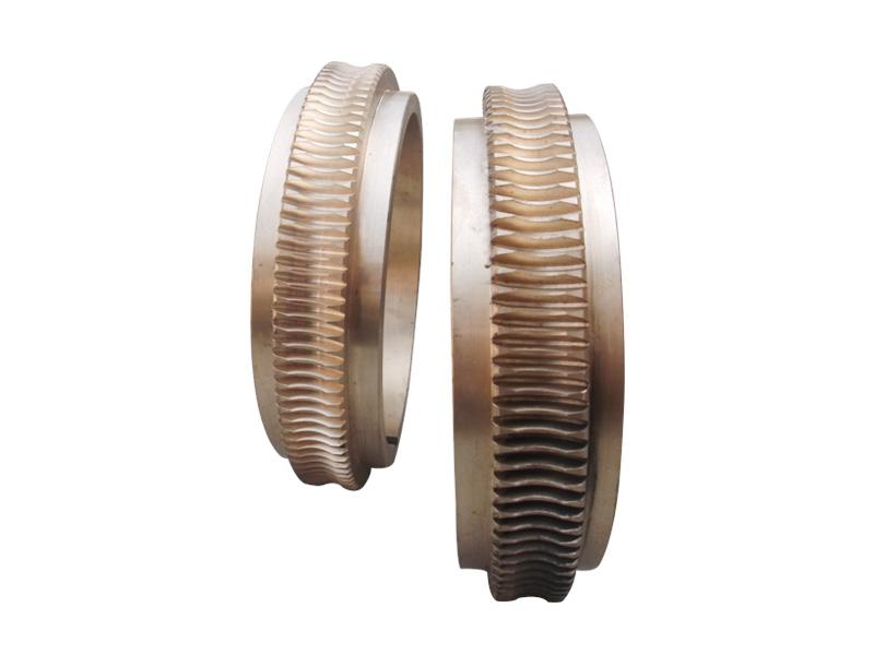 轧机压下装置减速机蜗轮