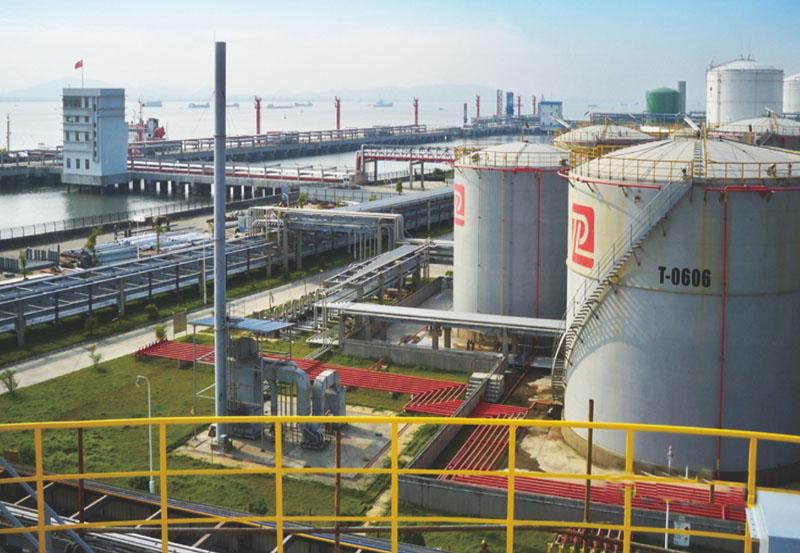 東莞市百安石化倉儲有限公司儲罐─期、二期工程項目