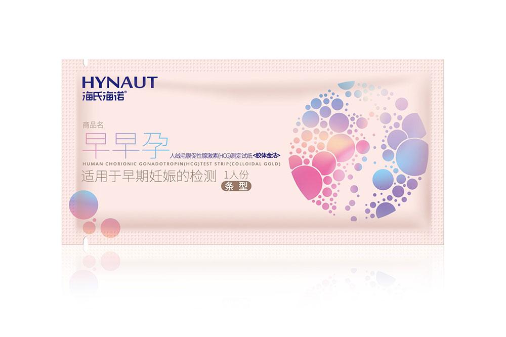 人絨毛膜促性腺激素(HCG)測定試紙(膠體金法)條型1人份小袋