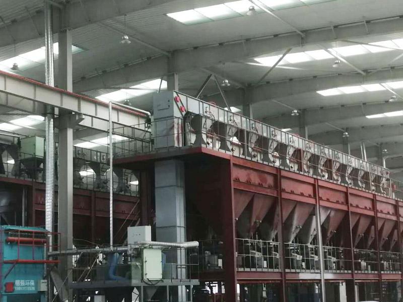 唐山耐火材料用Z型提升機全面竣工